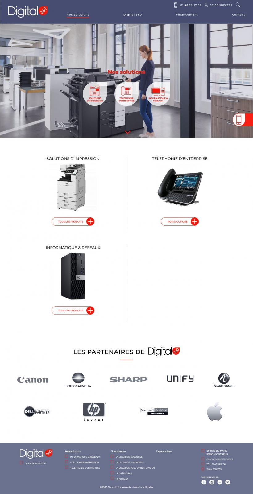 Site internet Digital360