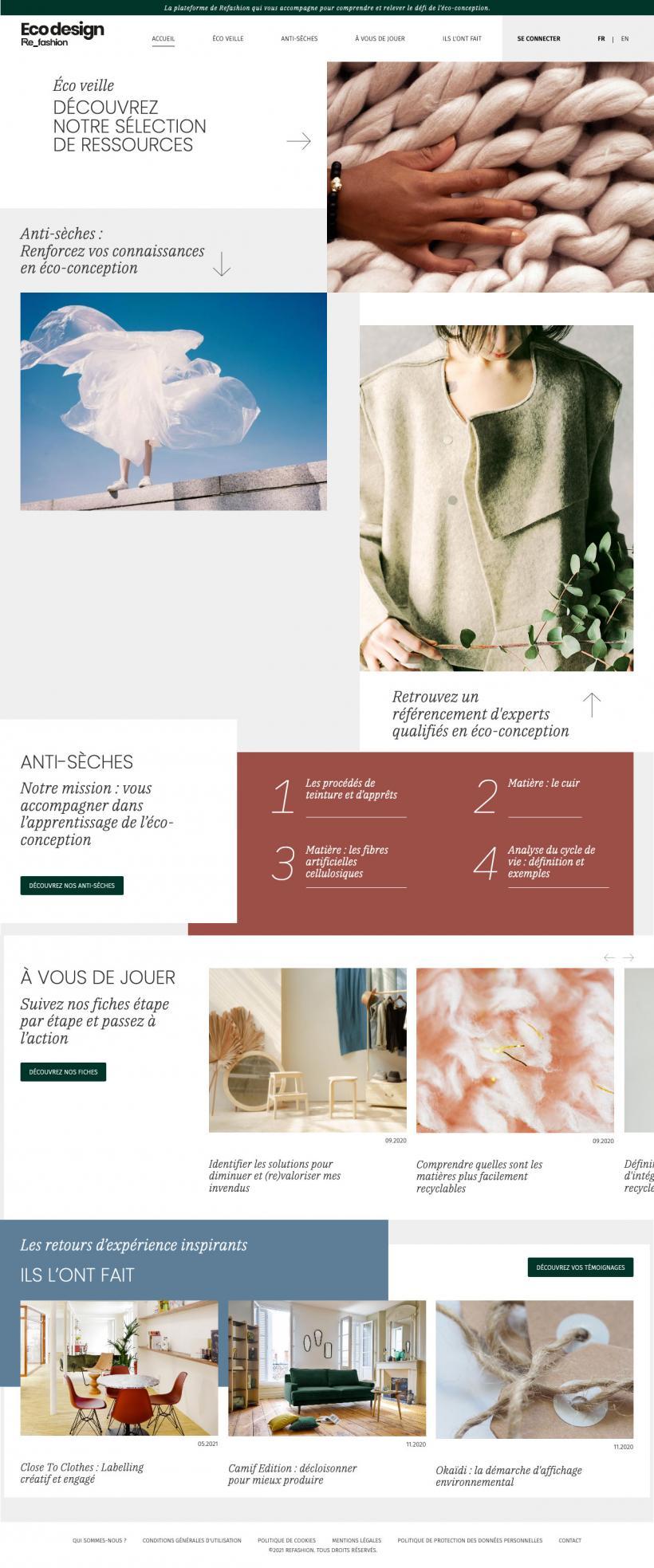 Site internet Refashion.fr